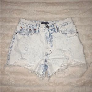 NWOT Abercrombie & Fitch Acid High Rise Shorts!!